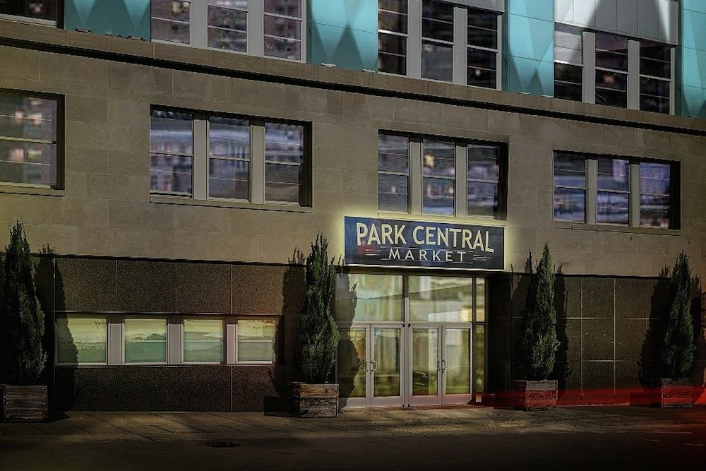 Park Central Market is targeted to open in February on the bottom floor of Sky Eleven.