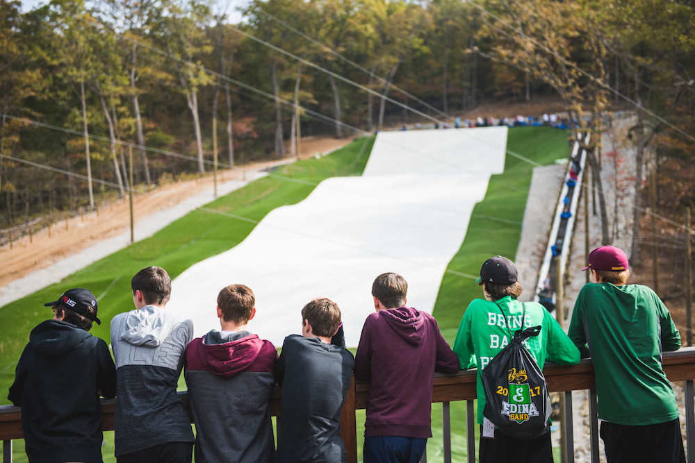 Branson Zipline at Wolfe Mountain's 300-foot-long Snowflex tubing hill is scheduled to open to the public on Dec. 1.
