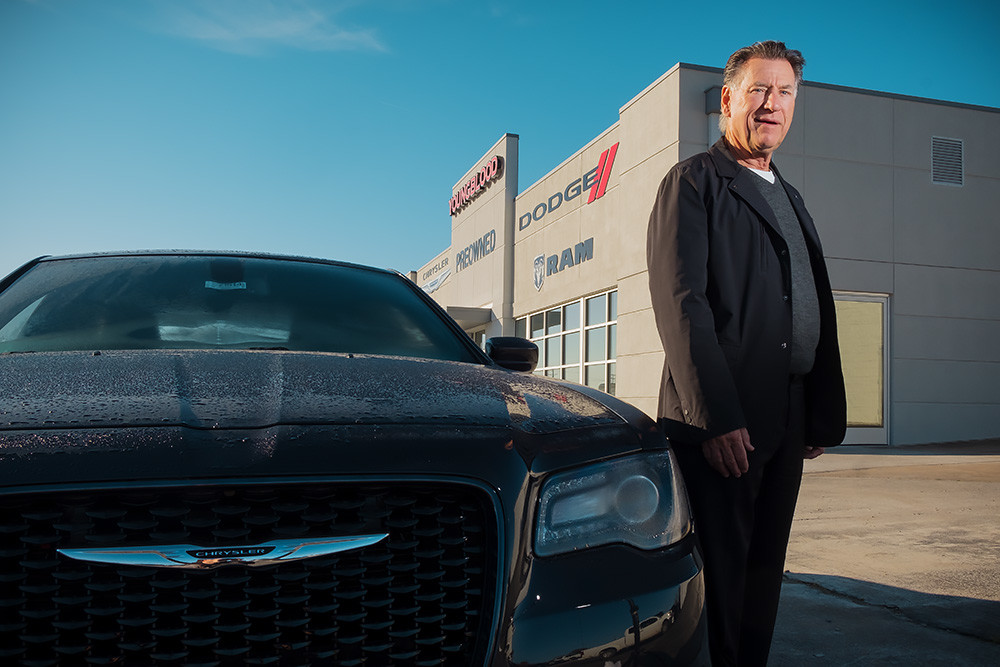 John Youngblood is taking the Dodge, Ram, Chrysler and Jeep brands to Ozark.