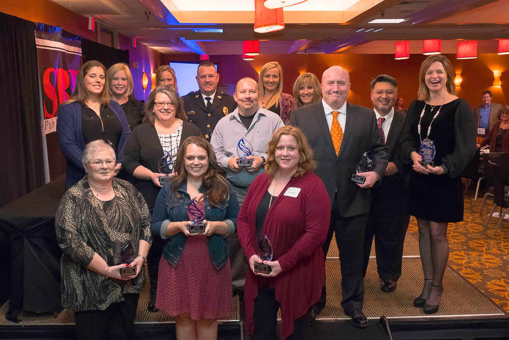 Springfield Business Journal honors 14 Health Care Champions Nov. 16 at the 2017 banquet, hosted at DoubleTree Hotel.