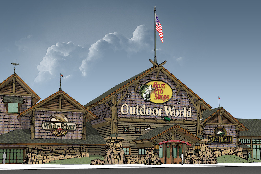 Bass Pro Shops pens a deal to become the anchor tenant of the 800,000-square-foot Bakersfield Gateway.