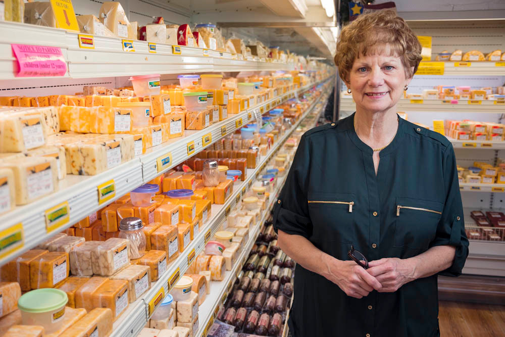 GOOD NEIGHBORS: Heather Alder mixes in unique foods, free samples and Lambert's next door to draw crowds to her Heather Hill Farms.
