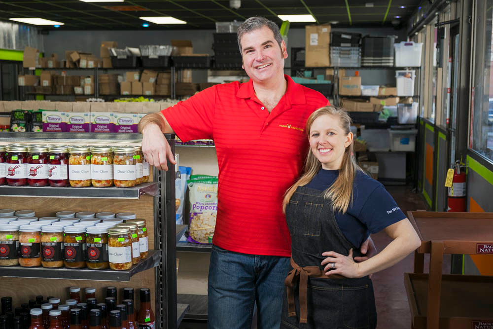 Paul and Ashely Allen, Farm 2 Counter Inc.