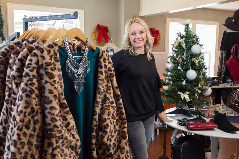 TRENDING NOW: Though Torn Boutique is tucked in a tiny, downtown square, owner Carissa Greenlee travels as far as Las Vegas and Dallas to bring back new and upcoming trends.