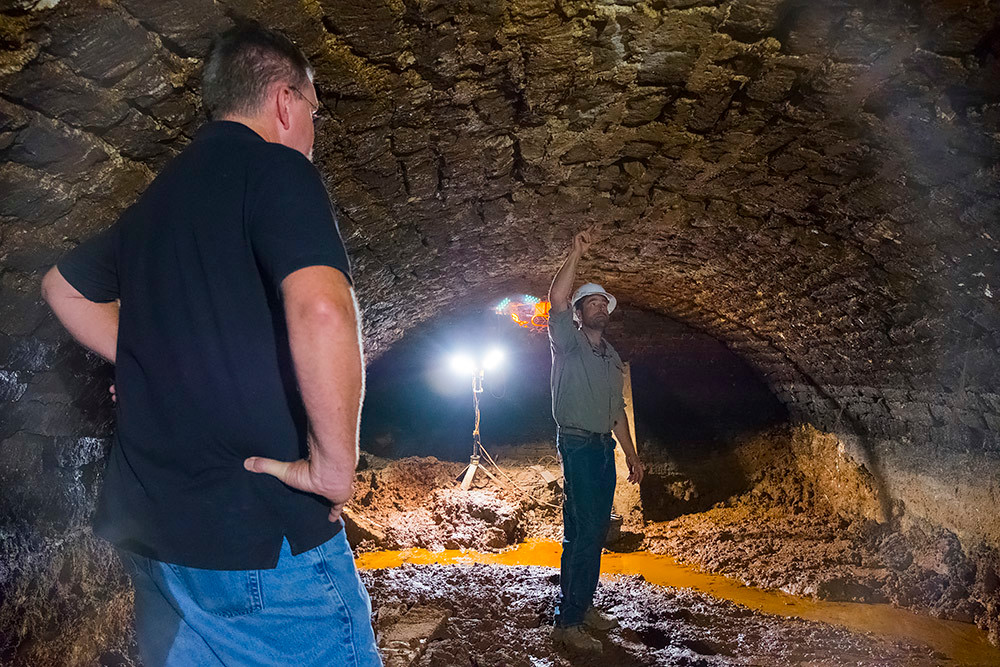 Photo Gallery: Ophelia's Underground Cellar Discovery