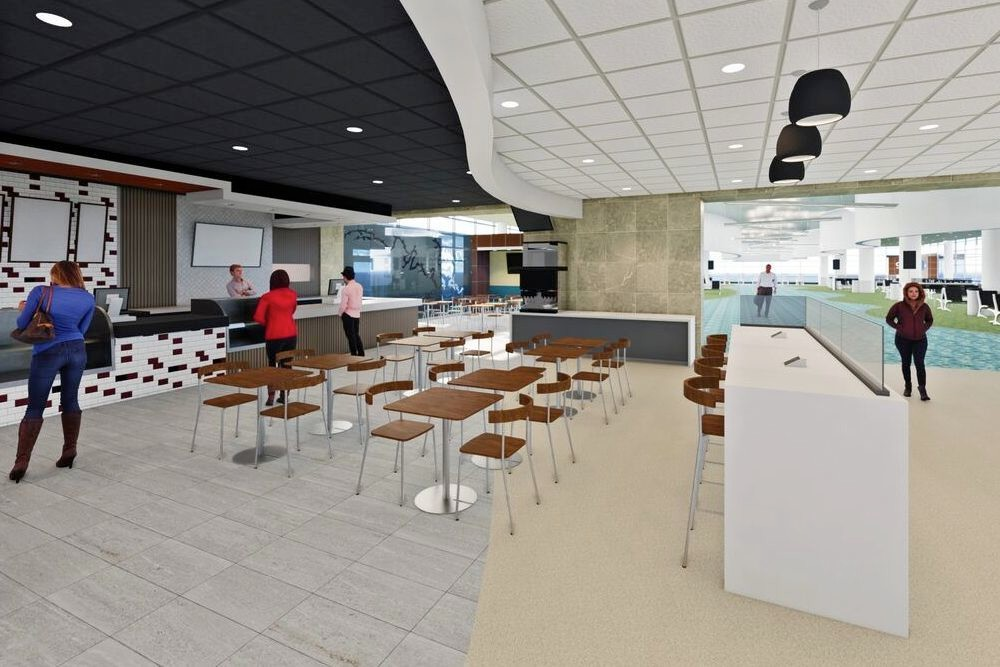 Springfield-Branson National Airport's $750,000 in renovations will include an expanded restaurant.
