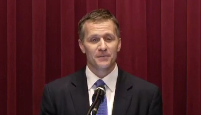 Gov. Eric Greitens delivers his second State of the State address in Jefferson City.