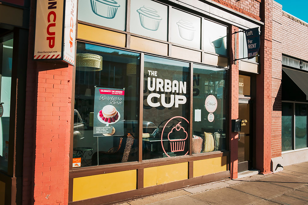 Crave Cookie Dough LLC is targeting an April opening at 325 E. Walnut St., the current home of The Urban Cup.