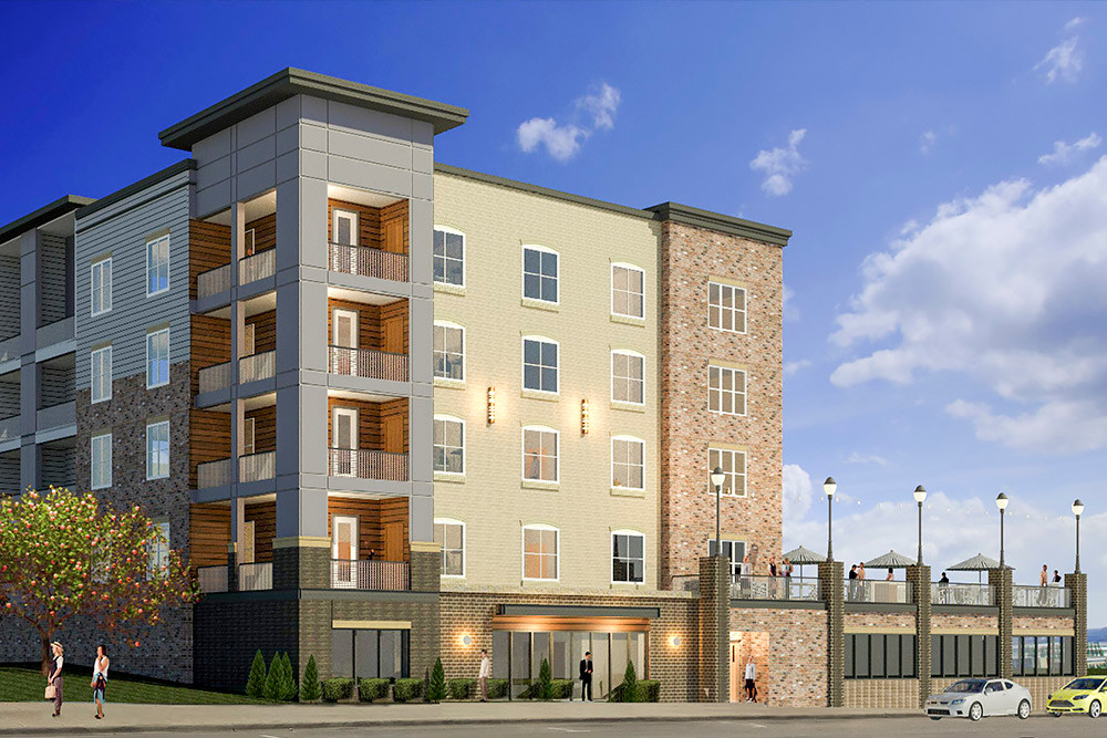 COLLEGE TOWN: St. Louis developers are investing in a planned development downtown.