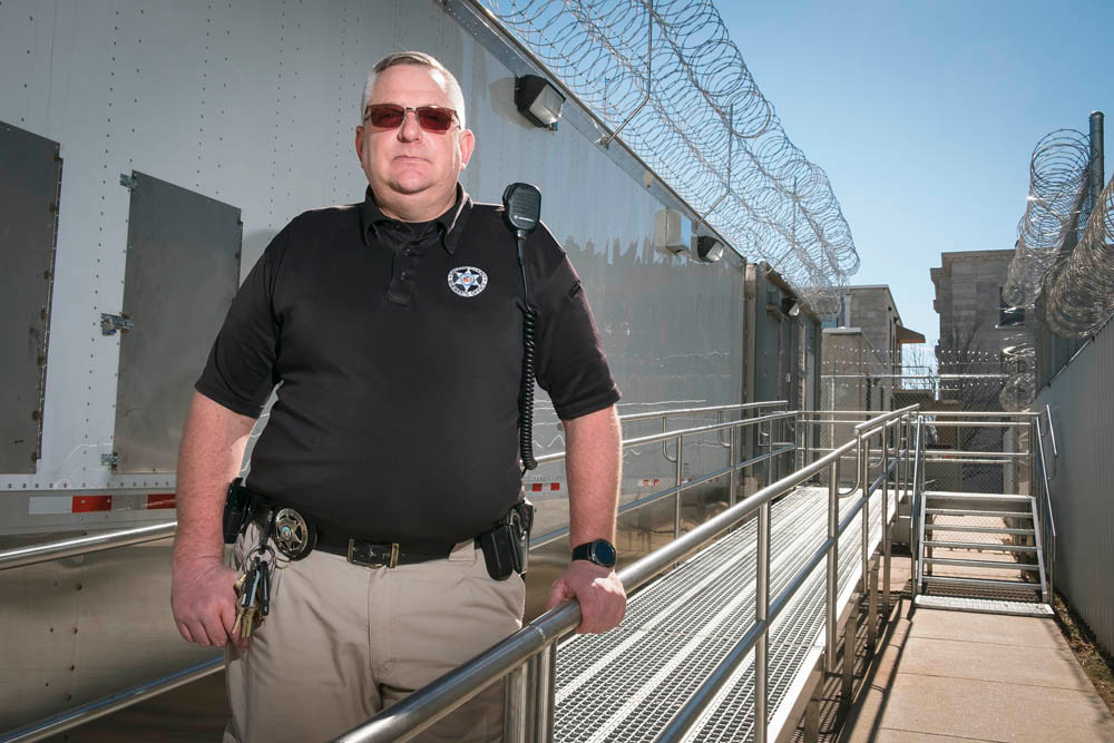 Greene County Sheriff's Office Capt. David Johnson oversees more than 700 inmates on a daily basis — while identifying savings for the jail expansion.