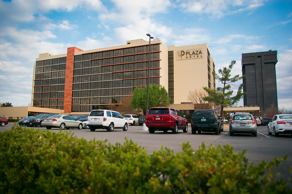 Atrium Hospitality takes over management of University Plaza Hotel and Convention Center, above, and other former JQH properties.