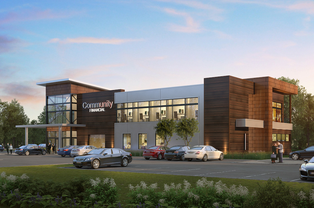 Community Financial Credit Union is building an 11,000-square-foot office at 2624 W. Republic Road.