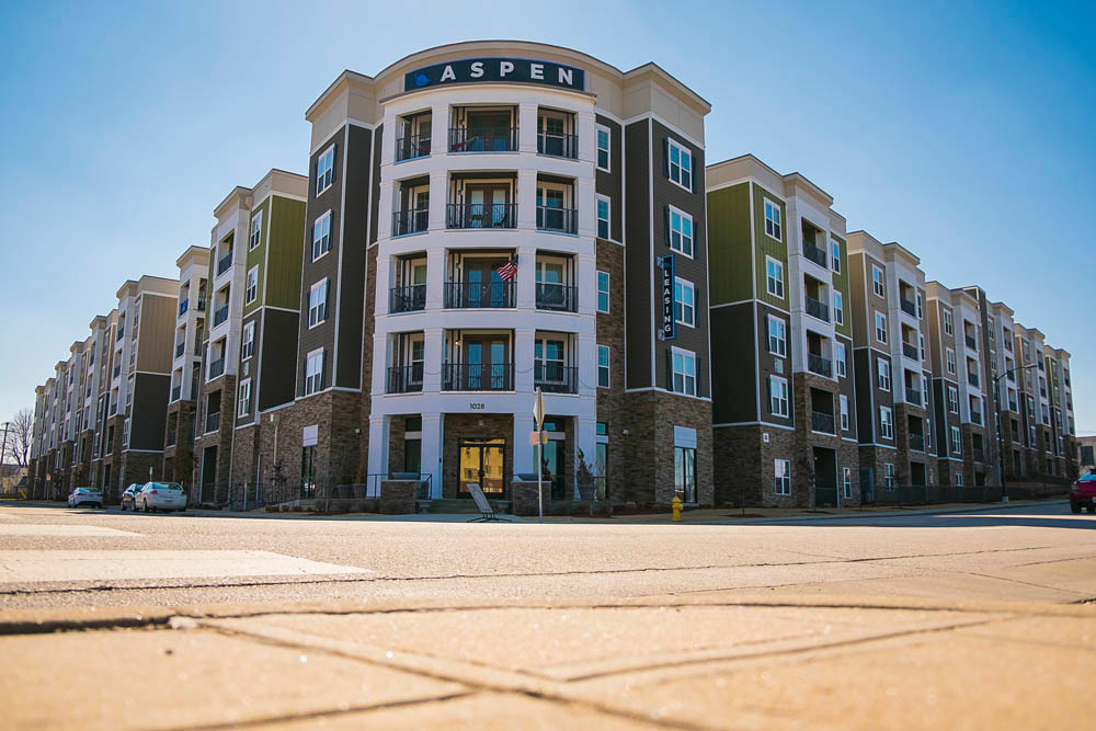 CENTER CITY COMPLEX: The $40 million Aspen Springfield is among developments that have added 2,400 beds for students in the area.