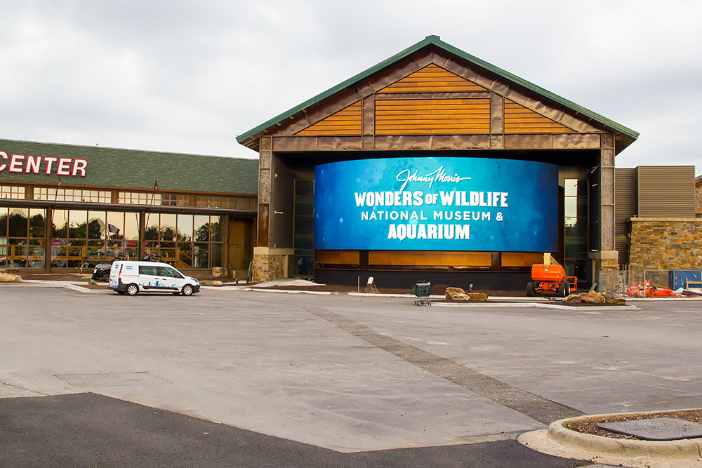 Wonders of Wildlife is adding the Bass Fishing Hall of Fame before it reopens Sept. 21. It's been closed for renovations since December 2007.