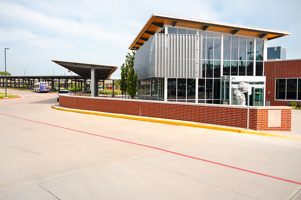 City Utilities was named 2016 Developer of the Year for its $4.4 million Transit Center project.