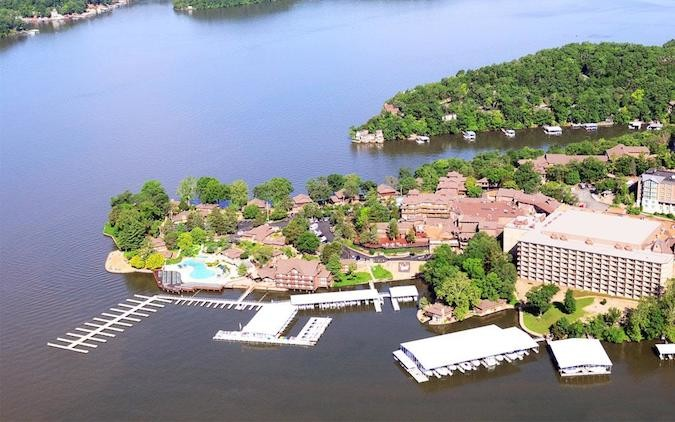 Miami-based Driftwood Acquisitions and Development LP is working with Margaritaville Holdings to transition Lake of the Ozarks' largest resort to leisure-focused branding.Photo courtesy TAN-TAR-A RESORT