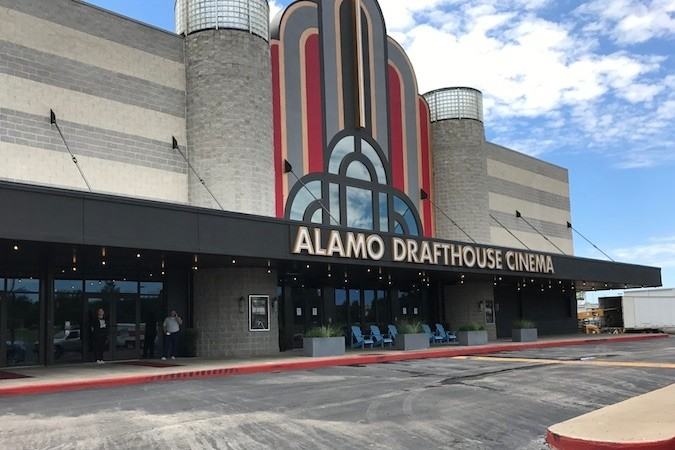 Alamo Drafthouse opened yesterday.SBJ photo by GEOFF PICKLE