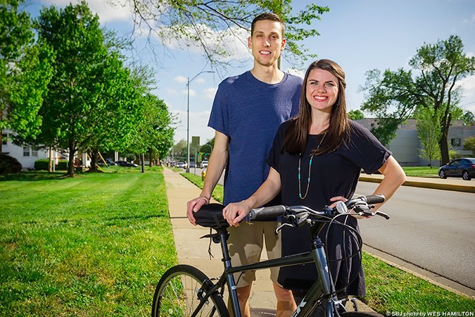 Shaun and Sarah Fossett, Springfield Bicycle Tours LLC