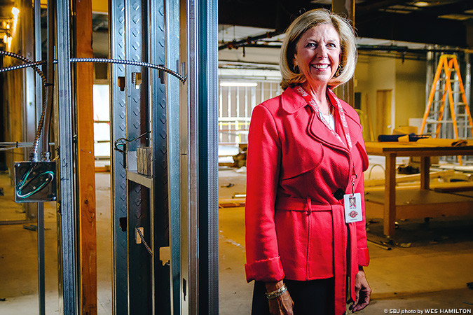 OVERDUE REMODEL: Sally Hargis and Ozarks Coca-Cola are overhauling the corporate offices.