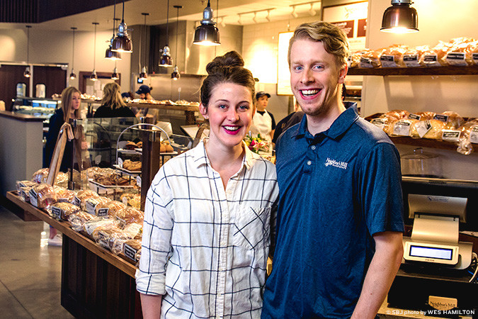 Lauren and Clif  Brown open a Springfield store for the Harrison, Ark.-based cafe.