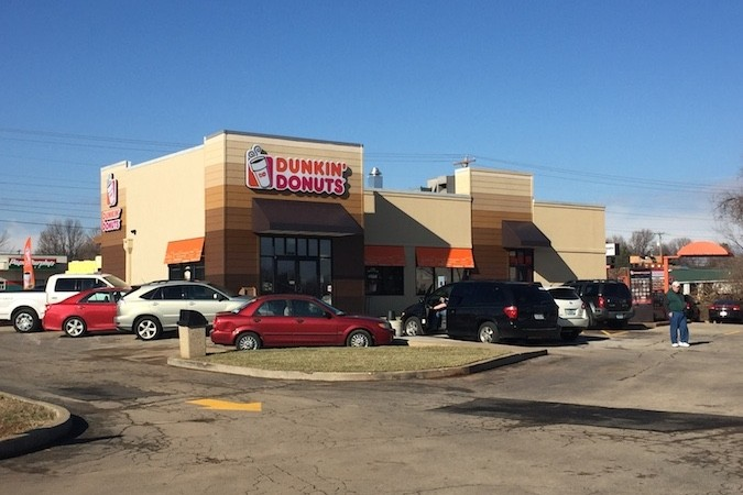 Dunkin' Donuts opens early this morning at 4020 S. Campbell Ave.