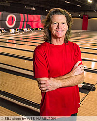 Andy Bartholomy is the man behind a $4.4 million renovation and expansion of the former Battlefield Lanes.
