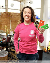 Arianna Russell and her 18-employee BoTeam sell iPhone cases made by Nixa-based Accurate Plastics. The manufacturer is the third contracted by Bodacious Cases after an extensive search for capable U.S. producers.