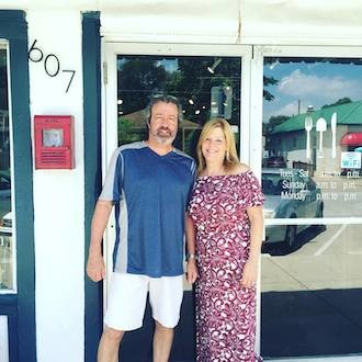 Rob and Jackie Bailey now operate Homegrown Food at 607 S. Pickwick Ave. Photo courtesy TEA BAR AND BITES