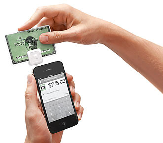 Square Inc.'s (NYSE: SQ) mobile card reader is often used by Springfield-area businesses.