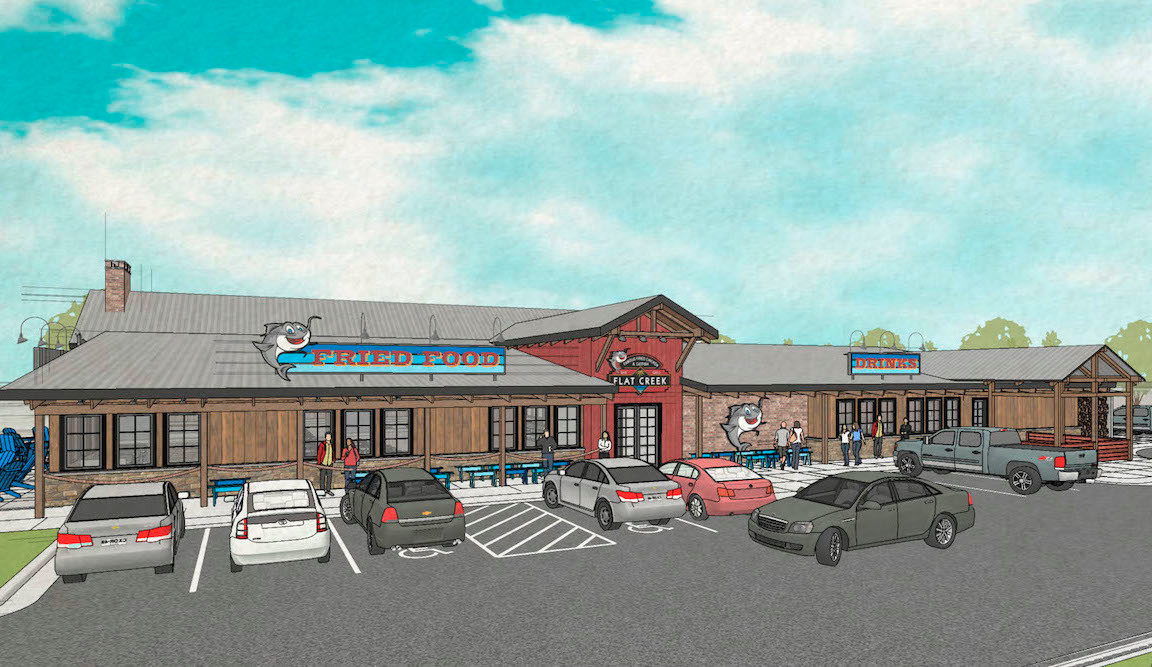 Flat Creek Resort Bar & Grill will anchor the development.