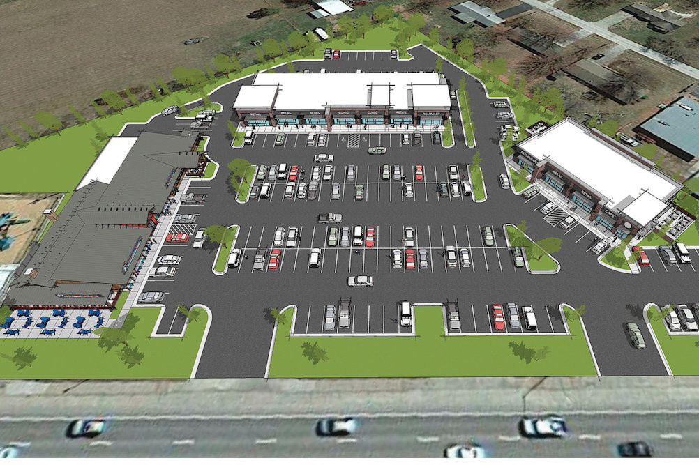 BP Builders LLC is general contractor for the three-building, 27,400-square-foot Wildwood Plaza.