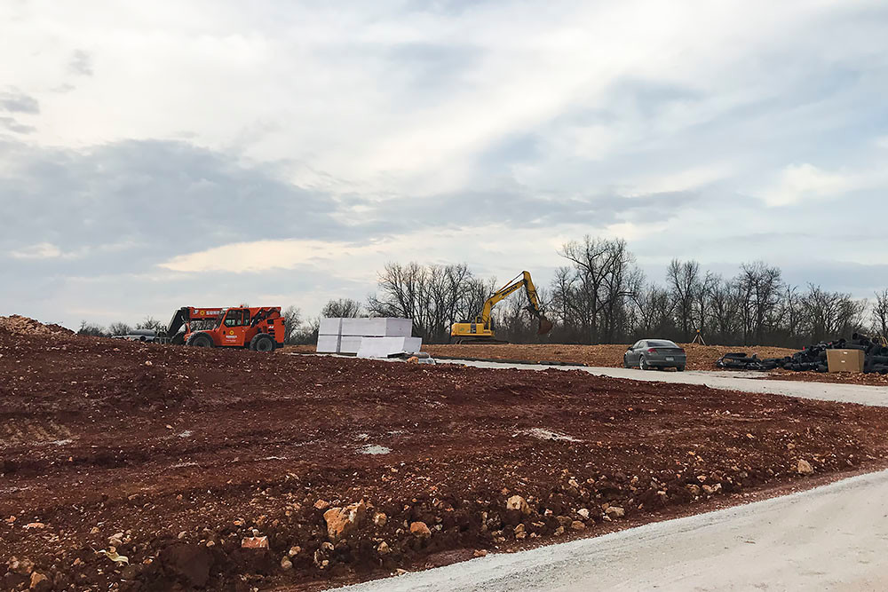 O'Reilly Development Co. LLC is in the early stages of developing The Township Senior Living.