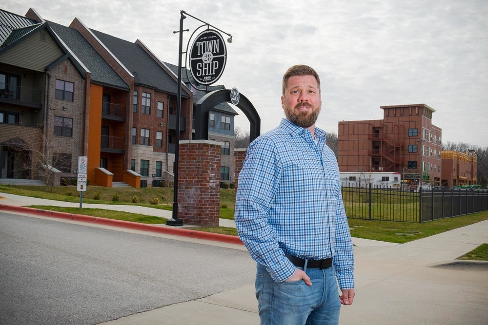 TRENDSETTER: TLC Properties President Sam M. Coryell is credited with spearheading the Galloway redevelopment plan, a catapult for subsequent development in the neighborhood.