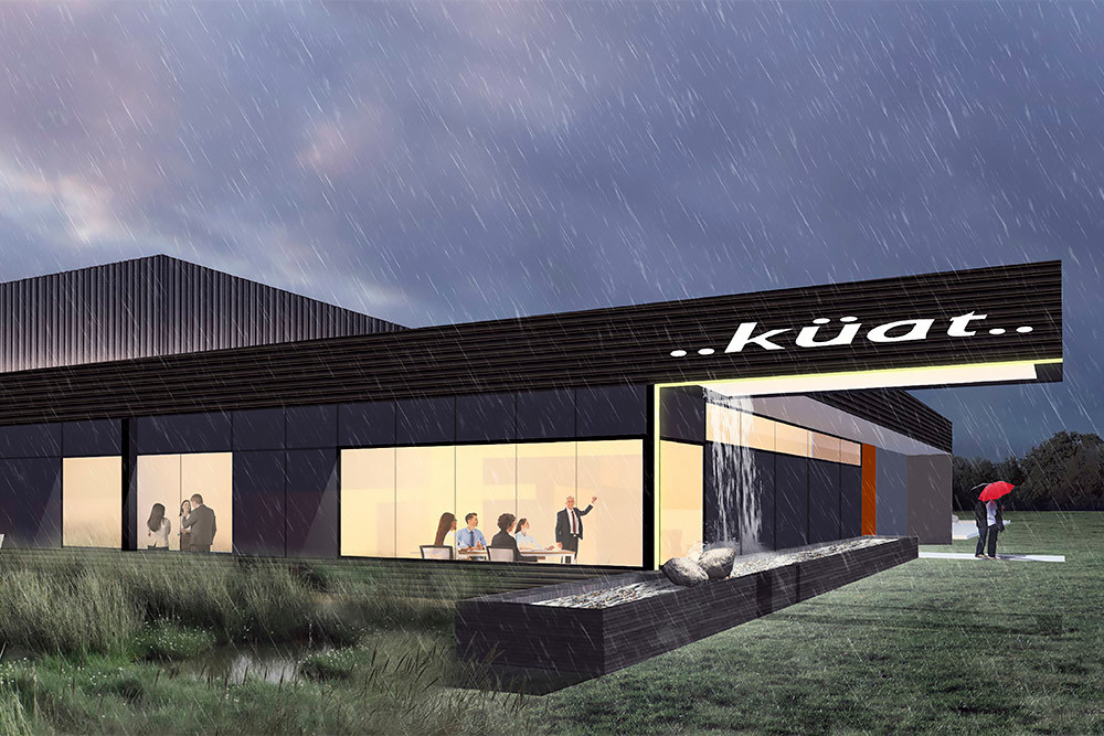 Arkifex Studios is project architect for Kuat's new headquarters and warehouse.