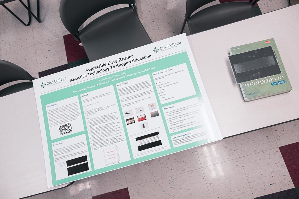 For each project, a process board is made, allowing other students to efficiently recreate the items for their own use.