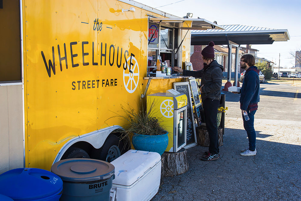 The company plans to keep its food truck open with a limited menu.