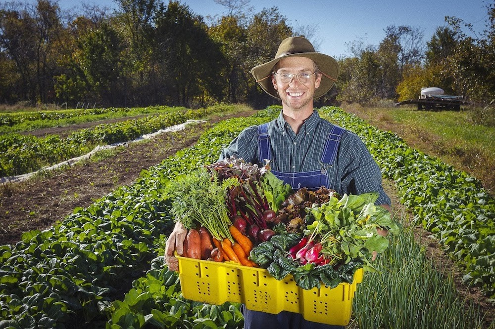 Curtis Millsap is working with Harvie to give his farm's CSA customers more choices.