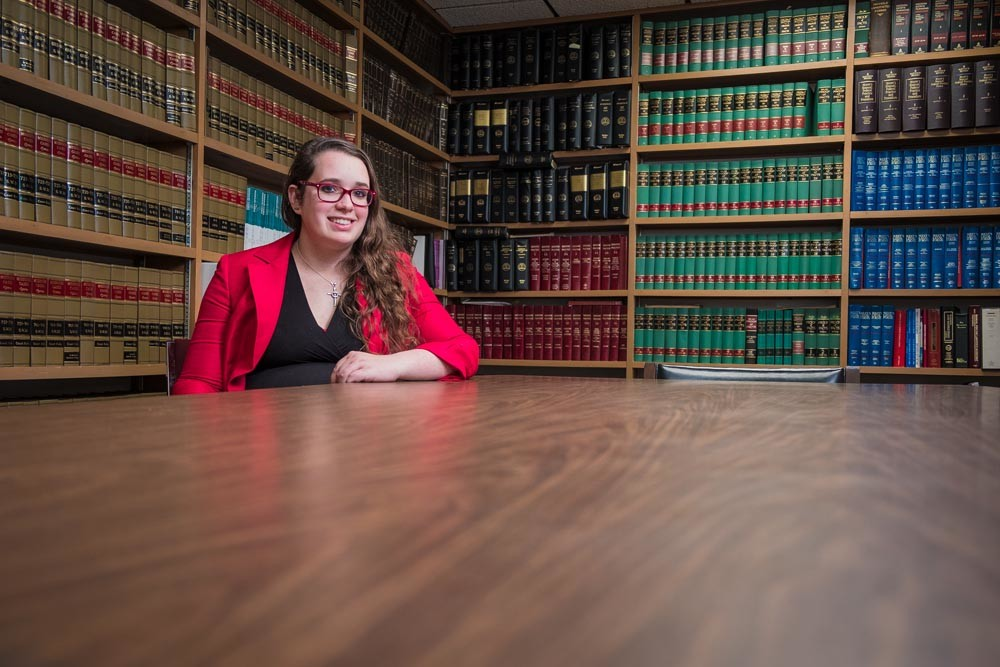 DEBT SCIENCE: Kate Trokey-Harris borrowed $100,000 to pay for tuition and living expenses for law school. She says it was worth the investment.