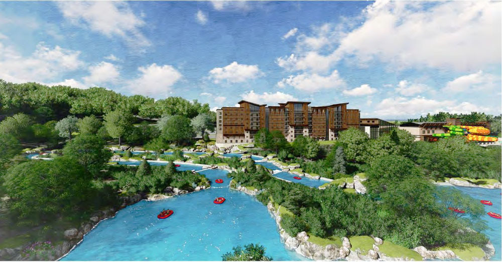 The TIF proposal for Branson Adventures failed earlier this year