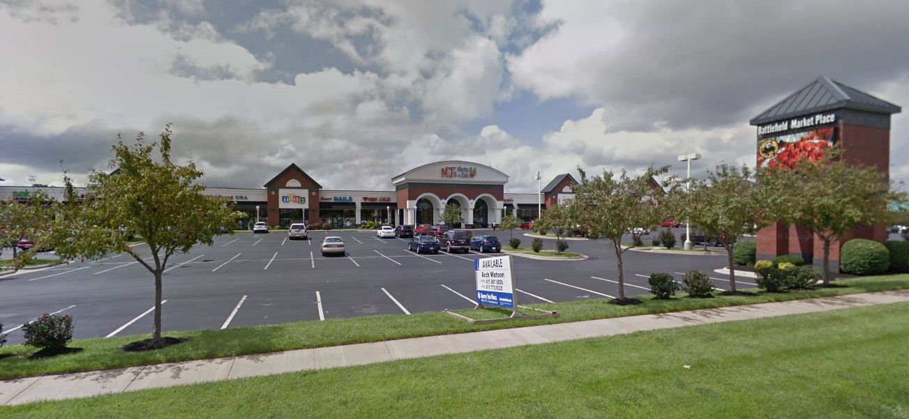 Battlefield Market Place is home to one of two Mercy-GoHealth Urgent Care centers in Springfield.