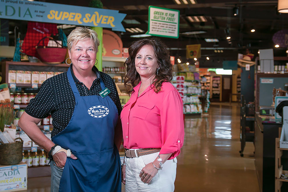 MaMa Jean's Natural Foods Market, owned by Diana Hicks, left, and Susie Farbin, is the 2018 Retailer of the Year.