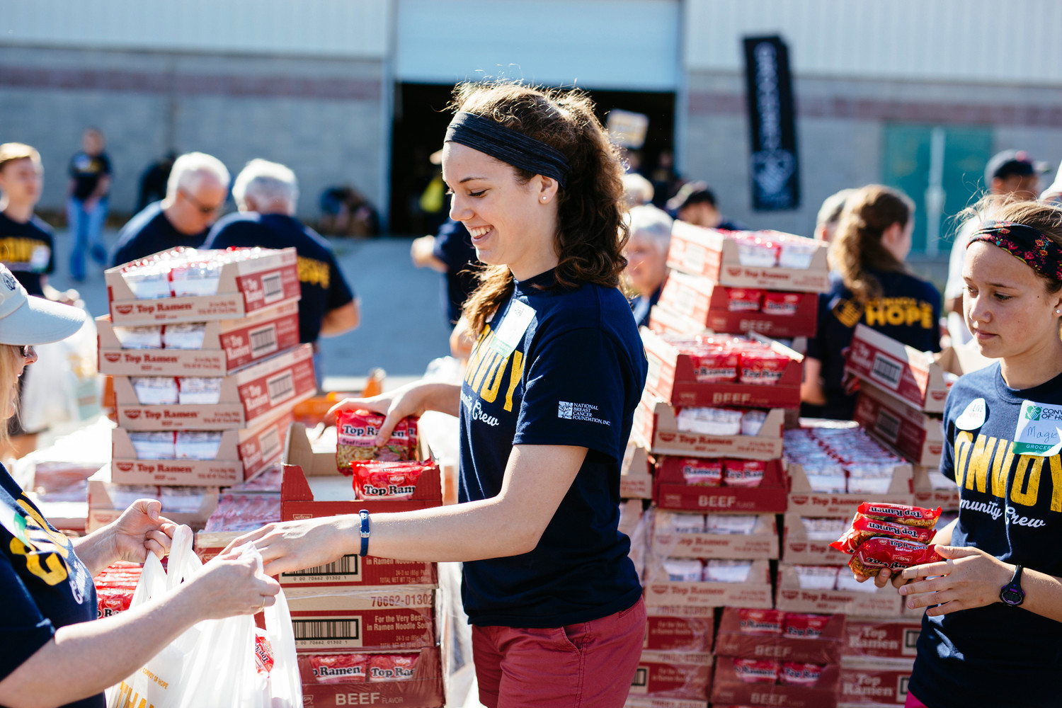 The 2016 Convoy of Hope Springfield Community Event provided $1 million in products and services to low-income families and individuals.