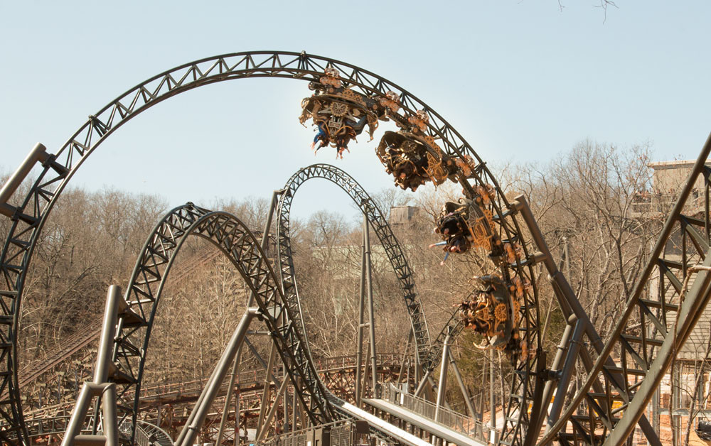 A person who was symptomatic went to Silver Dollar City on the first day it reopened to the general public.