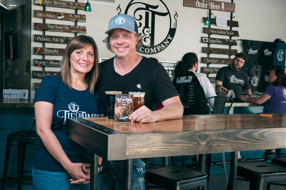 TAKE A TOUR: Tie & Timber owners Curtis Marshall and Jen Leonard say Springfield is becoming a beer destination, which the Ozarks Tap and Pour Craft Beverage Tour helps to highlight.