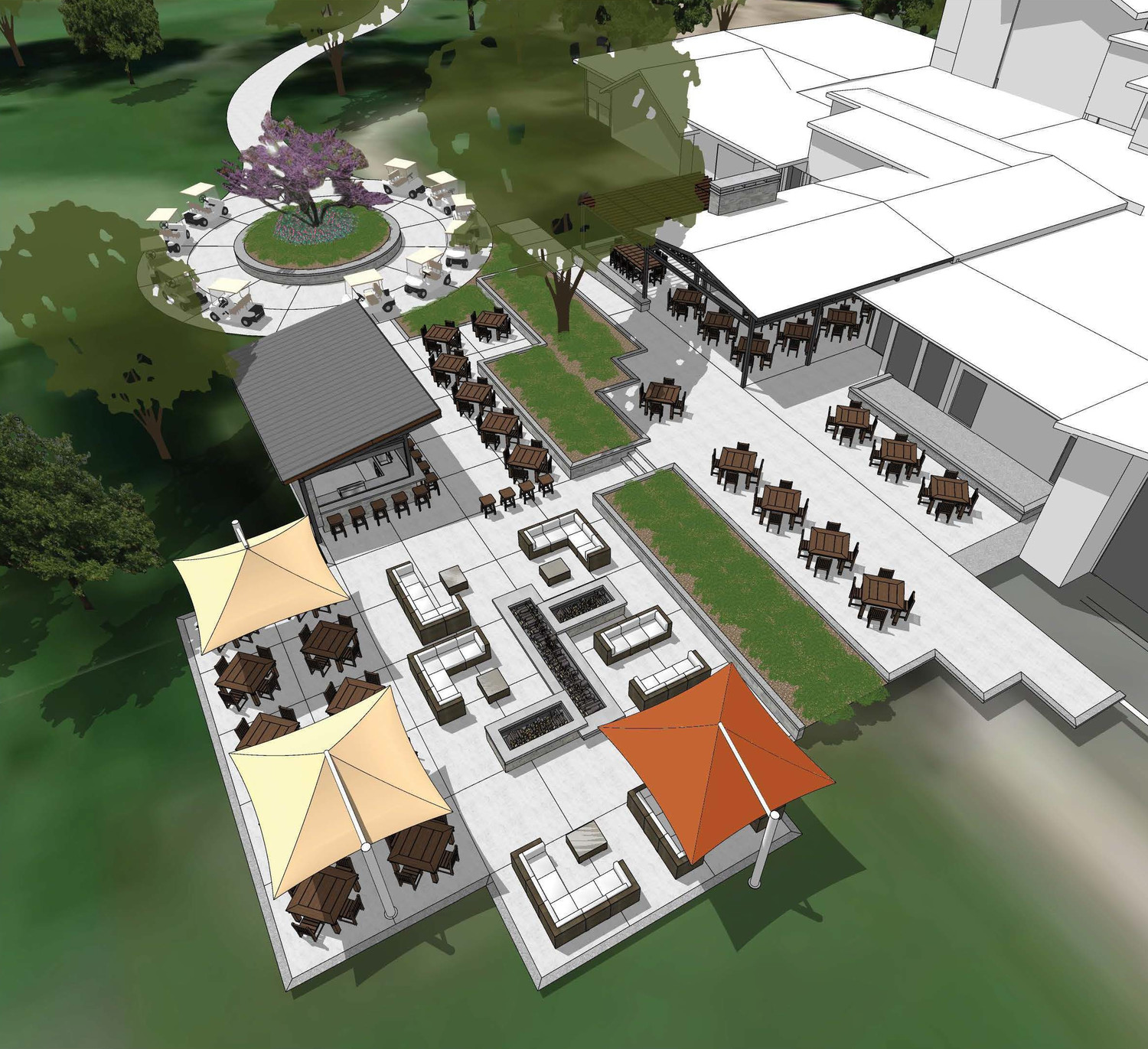 Hickory Hills Country Club plans to overhaul the private facility, with a new three-season patio being among major renovation work.