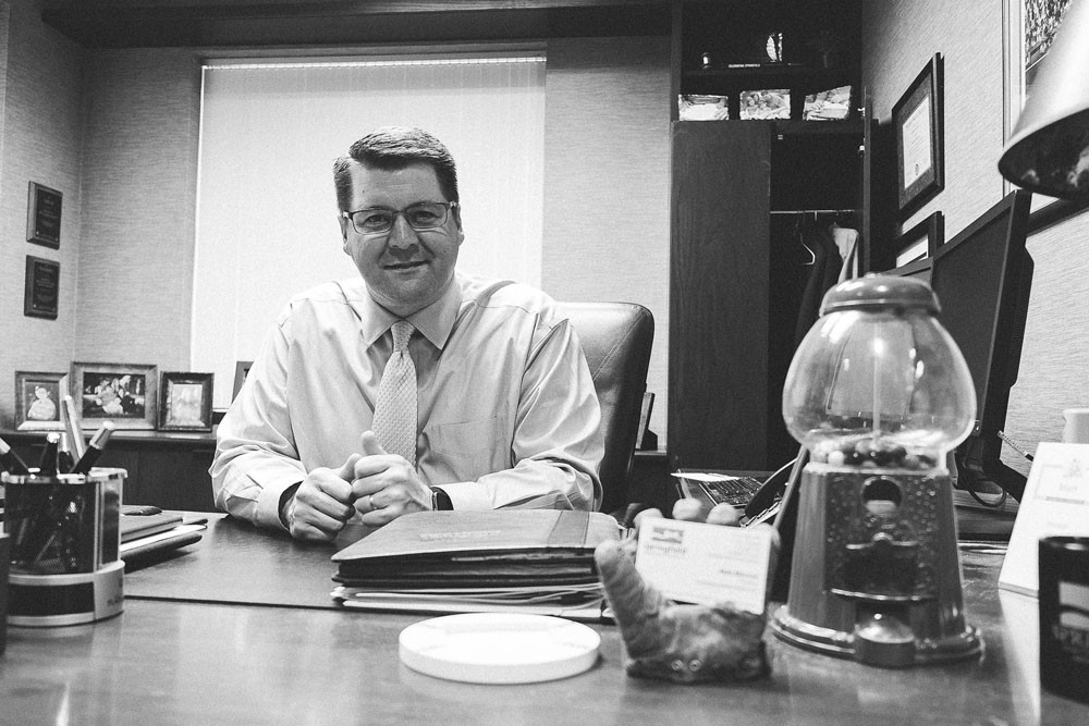 CHAMBER LEADER: Morrow has served as president of the Springfield Area Chamber of Commerce since 2014.