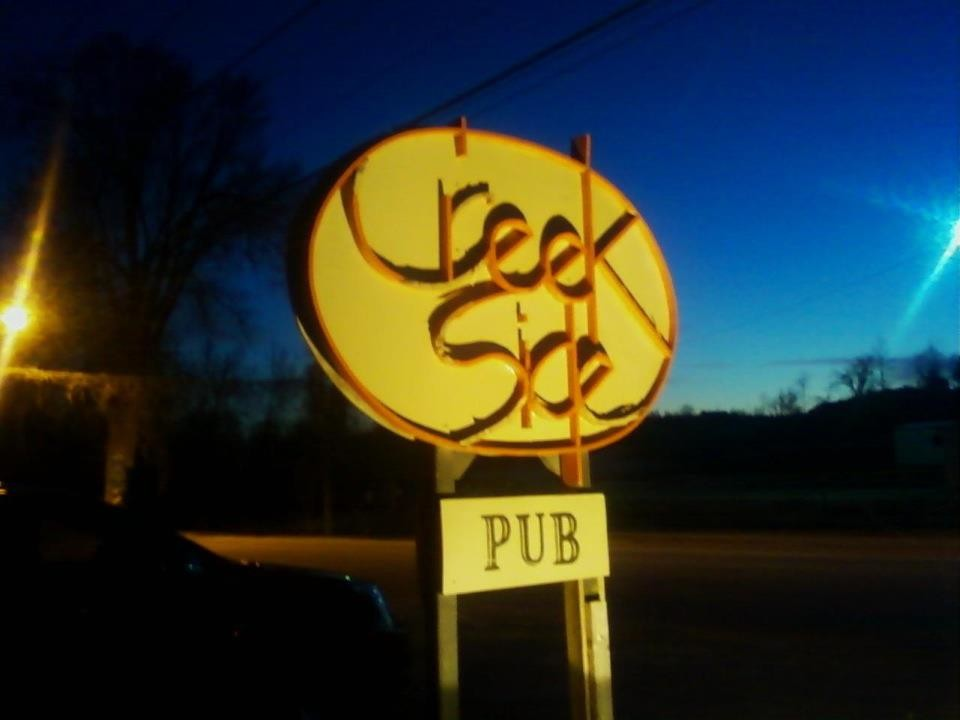 Creek Side Pub is closing after a final concert scheduled tonight.