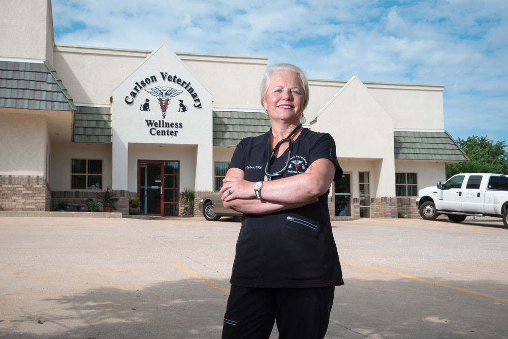 ALL ABOUT ANIMALS: Dr. Liisa Carlson is continuing the family business with a new name and address.