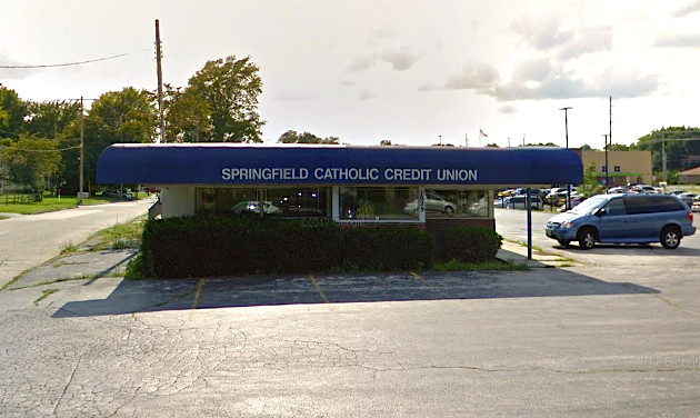 Springfield Catholic Credit Union's 1029 S. Campbell Ave. branch is now closed to the public.