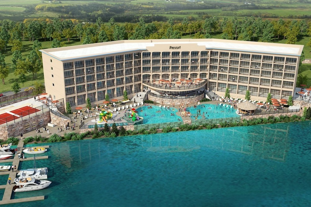 A $42 million hotel is planned on a Table Rock Lake peninsula.